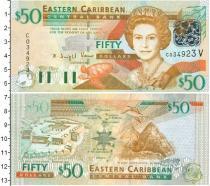 Каталог монет - монета  Карибы 50 долларов