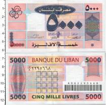 Каталог монет - монета  Ливан 5000 ливр