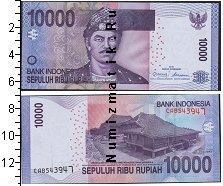 Каталог монет - монета  Индонезия 10000 рупий