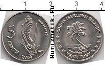 Каталог монет - монета  Кокосовые острова 5 центов