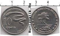 Каталог монет - монета  Кокосовые острова 10 центов