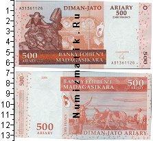 Каталог монет - монета  Мадагаскар 500 ариари