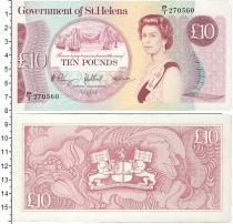 Каталог монет - монета  Остров Святой Елены 10 фунтов