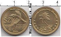 Каталог монет - монета  Кокосовые острова 2 доллара