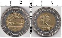 Каталог монет - монета  Кокосовые острова 5 долларов