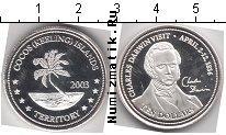 Продать Монеты Кокосовые острова 10 долларов 2003 Серебро