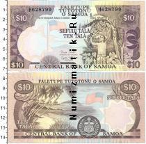 Каталог монет - монета  Самоа 10 тала