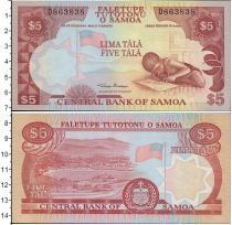 Каталог монет - монета  Самоа 5 тала