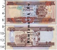 Каталог монет - монета  Соломоновы острова 20 долларов