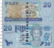 Каталог монет - монета  Фиджи 20 долларов