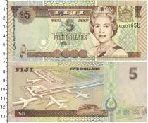 Каталог монет - монета  Фиджи 5 долларов
