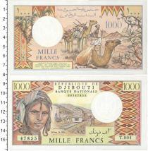 Каталог монет - монета  Джибути 1000 франков