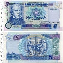 Каталог монет - монета  Шотландия 5 фунтов