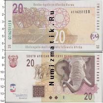 Каталог монет - монета  ЮАР 20 рандов
