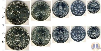 Каталог - подарочный набор  Гватемала Гватемала 2006-2007