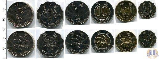 Каталог - подарочный набор  Гонконг Гонконг 1993-1998