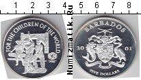 Каталог монет - монета  Барбадос 5 долларов