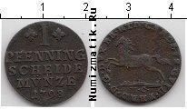Каталог монет - монета  Ганновер 1 пфенниг