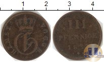 Каталог монет - монета  Нассау 3 пфеннига