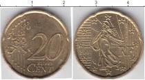 Каталог монет - монета  Франция 20 евроцентов