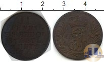 Каталог монет - монета  Шварцбург-Рудольфштадт 2 пфеннига