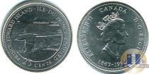 Каталог монет - монета  Канада 25 центов
