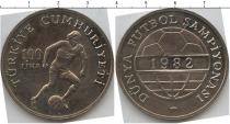 Каталог монет - монета  Турция 100 лир
