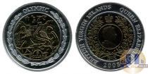 Каталог монет - монета  Виргинские острова 5 долларов