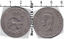 Каталог монет - монета  Территория афаров и исса 100 франков