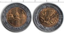 Каталог монет - монета  Сан-Марино 500 лир
