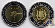 Каталог монет - монета  кантон Нойшатель 10 франков