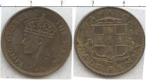 Каталог монет - монета  Ямайка 1/2 пенни