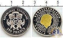 Каталог монет - монета  Того 250 франков