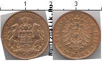Каталог монет - монета  Гамбург 10 марок