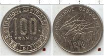 Каталог монет - монета  Габон 100 франков