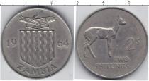 Каталог монет - монета  Замбия 2 шиллинга