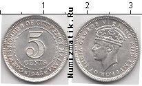 Каталог монет - монета  Малайя 5 центов
