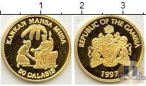 Каталог монет - монета  Гамбия 50 даласи