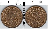 Каталог монет - монета  Тунис 100 миллим
