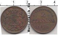 Каталог монет - монета  Бавария 2 пфеннига