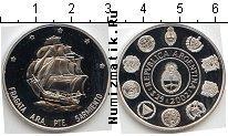 Продать Монеты Аргентина 25 песо 2002 Серебро
