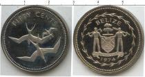 Каталог монет - монета  Белиз 50 центов