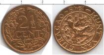 Каталог монет - монета  Кюрасао 2 1/2 цента
