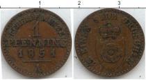 Каталог монет - монета  Липпе-Детмольд 1 пфенниг