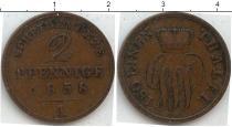 Каталог монет - монета  Мекленбург-Стрелитц 2 пфеннига