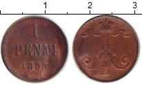 Каталог монет - монета  1881 – 1894 Александр III 1 пенни
