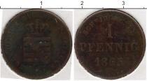 Каталог монет - монета  Саксен-Майнинген 1 пфенниг