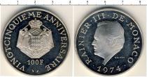 Каталог монет - монета  Монако 100 франков