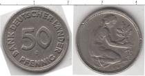 Каталог монет - монета  ФРГ 50 пфеннигов