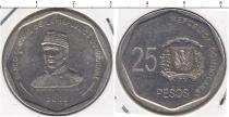 Каталог монет - монета  Доминиканская республика 25 песо